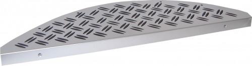 Aluminium trapmat Robuust 17,5 x 60 cm