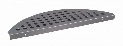 Aluminium trapmat Bruut 17.5 x 60 cm