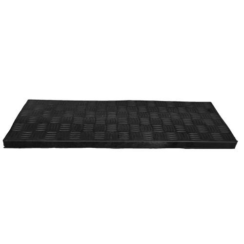 Trapmat Rubber rechthoek 25 x 75 cm