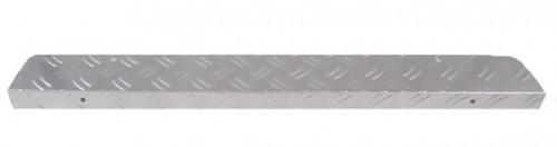 Aluminium trapmat - trapneus zilver