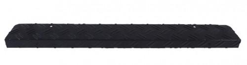 Aluminium trapmat - trapneus Zwart