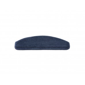 Trapmat Velours Donker Blauw 17 x 56 cm
